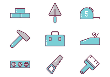 Construction Icon - vector gratuit #410419