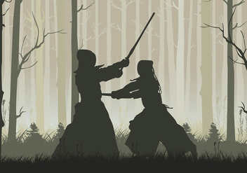Kendo Forest Free Vector - Free vector #410509