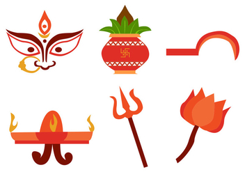 Navratri Vector Set - бесплатный vector #410599