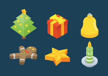 Free Christmas Icons Vector - бесплатный vector #410769