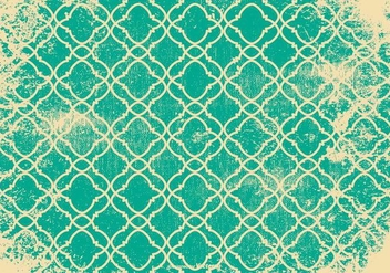 Retro Grunge Pattern Background - vector gratuit #410799