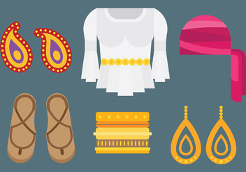 Free Gipsy Icons Vector - Free vector #411729