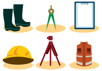 Surveyor Vector Set - vector gratuit #412179