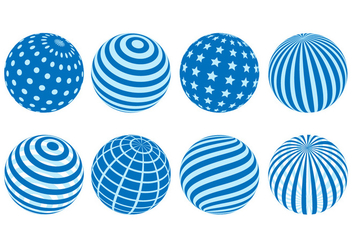 Free Globes Vector - Free vector #412219
