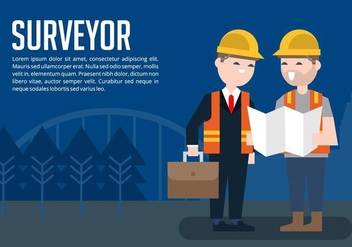 Surveyor Background - бесплатный vector #412659
