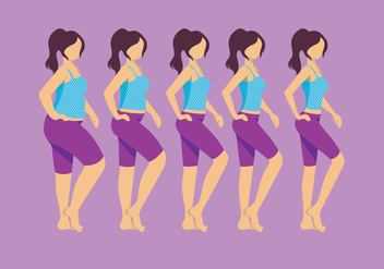Slimming Vector - Free vector #412879