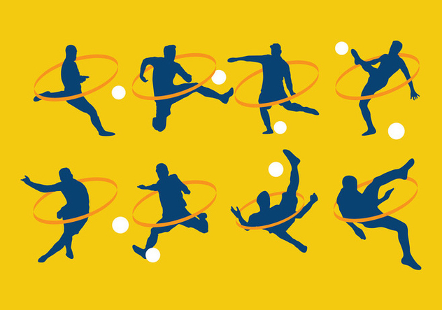 Kickball Silhouette Free Vector - Free vector #412979
