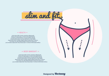 Slim And Fit Vector - Kostenloses vector #413209