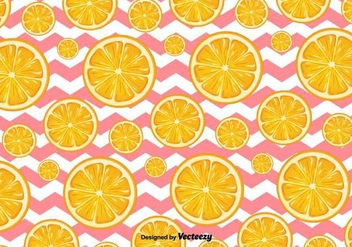 Orange Slices Vector Background - Free vector #413219
