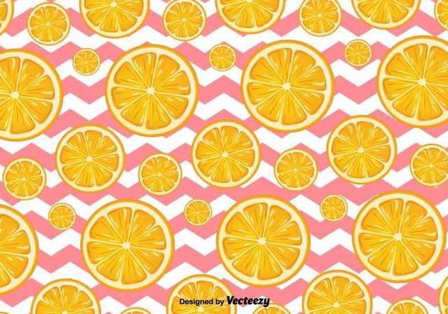 Orange Slices Vector Background - vector gratuit #413219