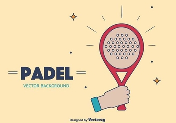 Padel Vector Background - vector gratuit #413239