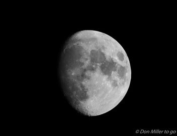 Waxing Gibbous - Kostenloses image #413279