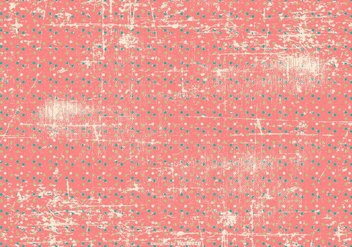 Grunge Polka Dot Background - Free vector #413349