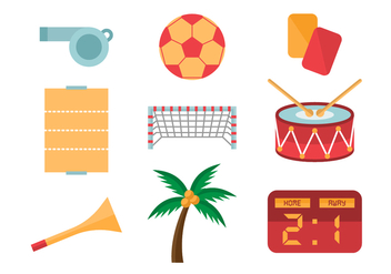 Free Beach Soccer Icons - бесплатный vector #413609