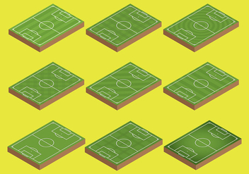 Free Football Ground Icons Vector - vector #414219 gratis