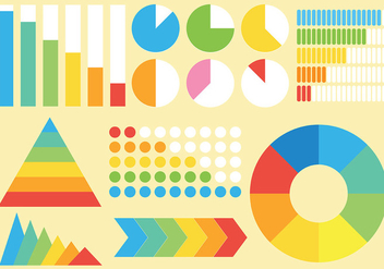 Free Infographic Elements Icons Vector - vector gratuit #414239