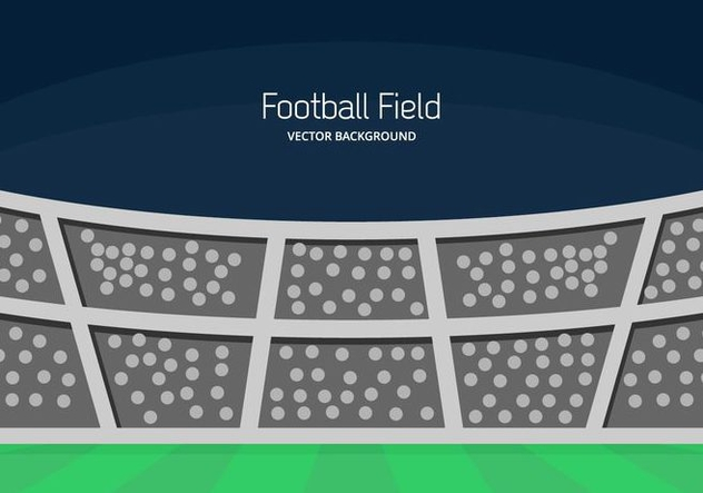 Football Ground Background - vector gratuit #414529