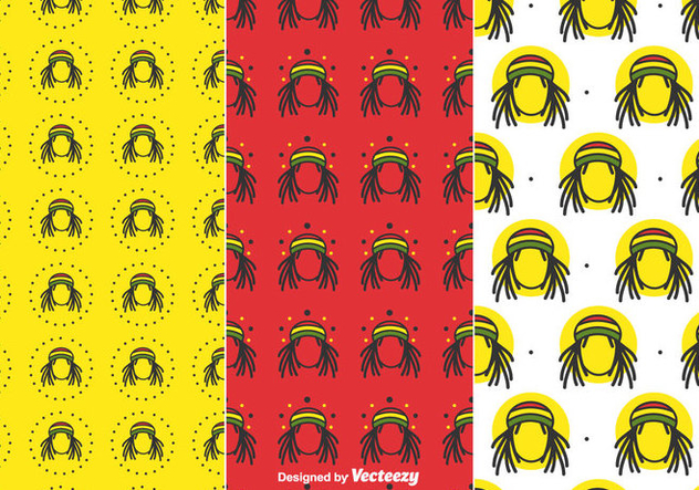 Free Dreads Pattern - Free vector #414639