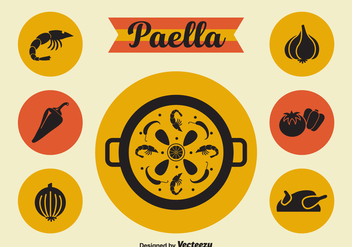 Free Paella Vector Icons - Free vector #414799
