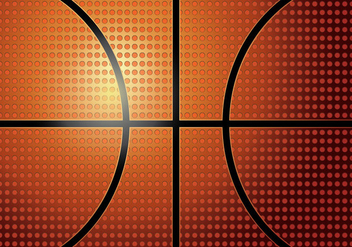 Basketball Texture - vector gratuit #415209