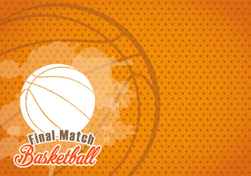 Basketball Texture Background - vector gratuit #415349