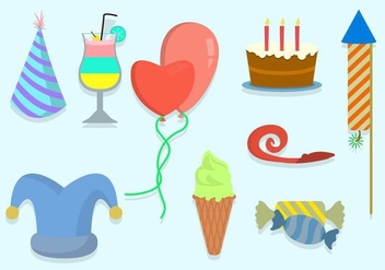 Free Party Vector Icons - vector #415359 gratis