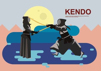 Free Kendo Illustration - Kostenloses vector #415429
