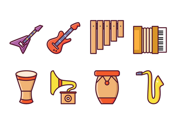 Free Instrumental Icons - Free vector #415529