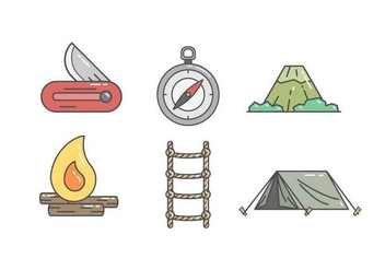 Free Adventure Gear Vector - vector #415709 gratis