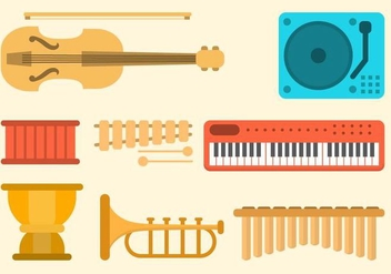 Free Music Vector Collection - Kostenloses vector #416039