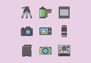 Free Photography Vector - бесплатный vector #416299