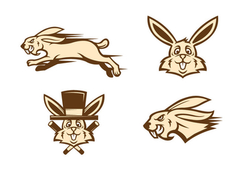 Free Rabbit Vector - Free vector #416379