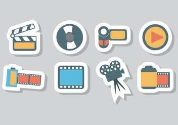 Free Photo and Video Icons Vector - vector #416859 gratis