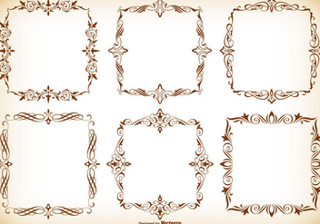 Decorative Frames Collection - Kostenloses vector #416999