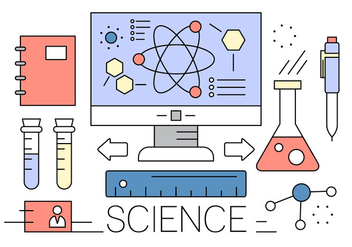 Free Science Vector Elements - vector gratuit #417039