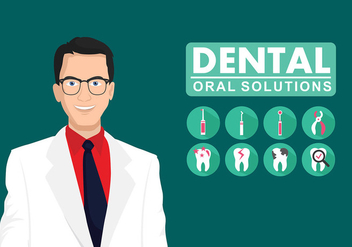 Dentista Free Vector - бесплатный vector #417279