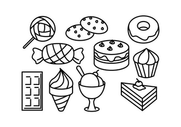 Free Sweet Vector - Free vector #417459