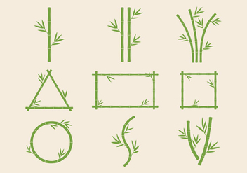 Free Bamboo Stems Vector - Free vector #417559