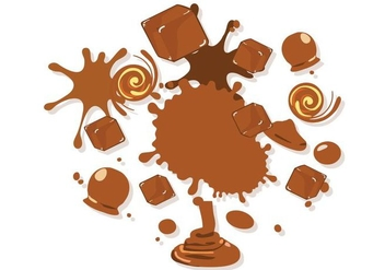 Free Sweet Melted Caramel Vector Illustration - Kostenloses vector #417579