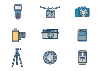 Free Photography Vector - vector #417599 gratis