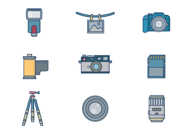 Free Photography Vector - бесплатный vector #417599