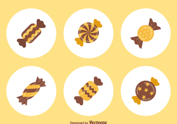 Free Toffee Vector Icons - Free vector #417899