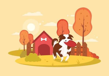 Free Border Collie Illustration - vector gratuit #417939