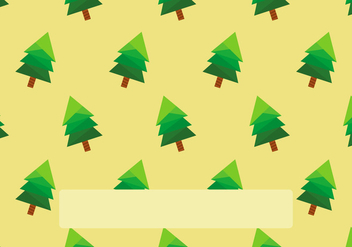Sapin Seamless Pattern Background Template - vector gratuit #417949