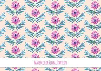 Spring Floral Pattern Free Vector - Free vector #418099