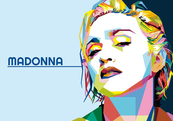 Madonna - Hollywood Life - WPAP - Kostenloses vector #418269
