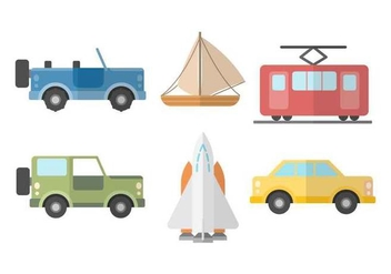 Free Transportation Vector - бесплатный vector #418429