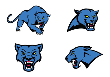 Free Panthers Vector - vector gratuit #418749