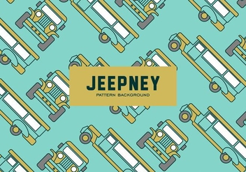 Jeepney Pattern - Free vector #418889