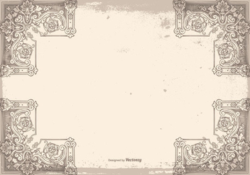 Vintage Grunge Frame Background - Kostenloses vector #419209